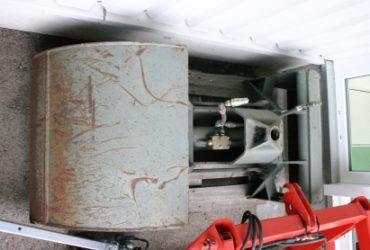 Pelle à gravier hydraulique